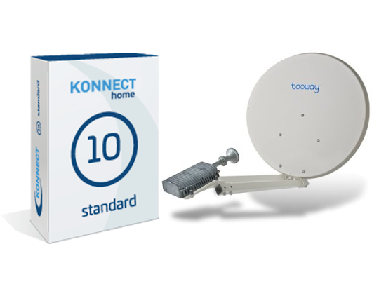 tooway konnect satelliet internet abonnementen